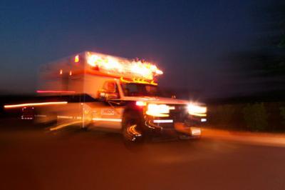speeding blurred ambulance stockimage emergency crash accident