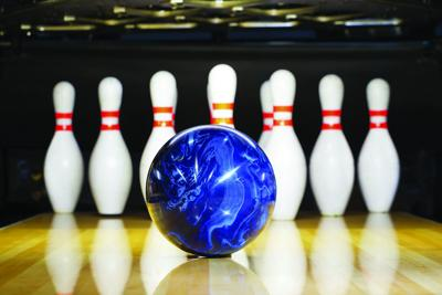 Bowling stock photo icon