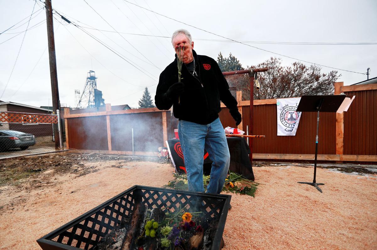 'Wotanism' ritual in Butte