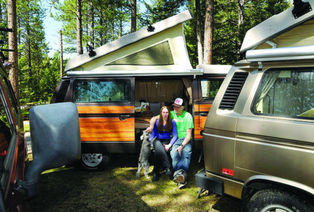 Company equips rental vans so campers can hit the road