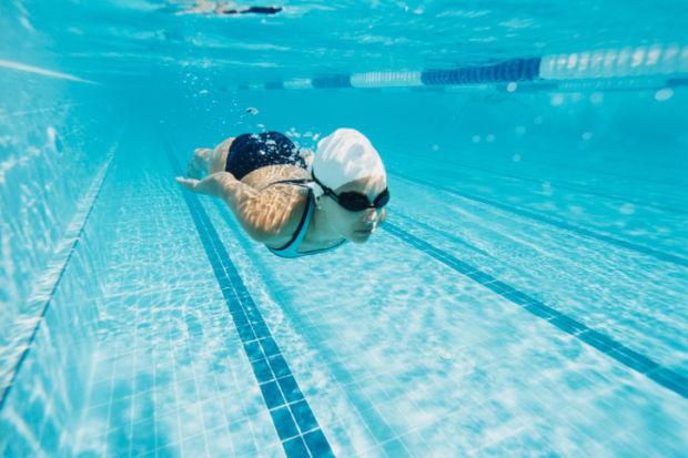 swimming stockimage pool swimmer underwater water