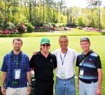 Butte guys at The Masters
