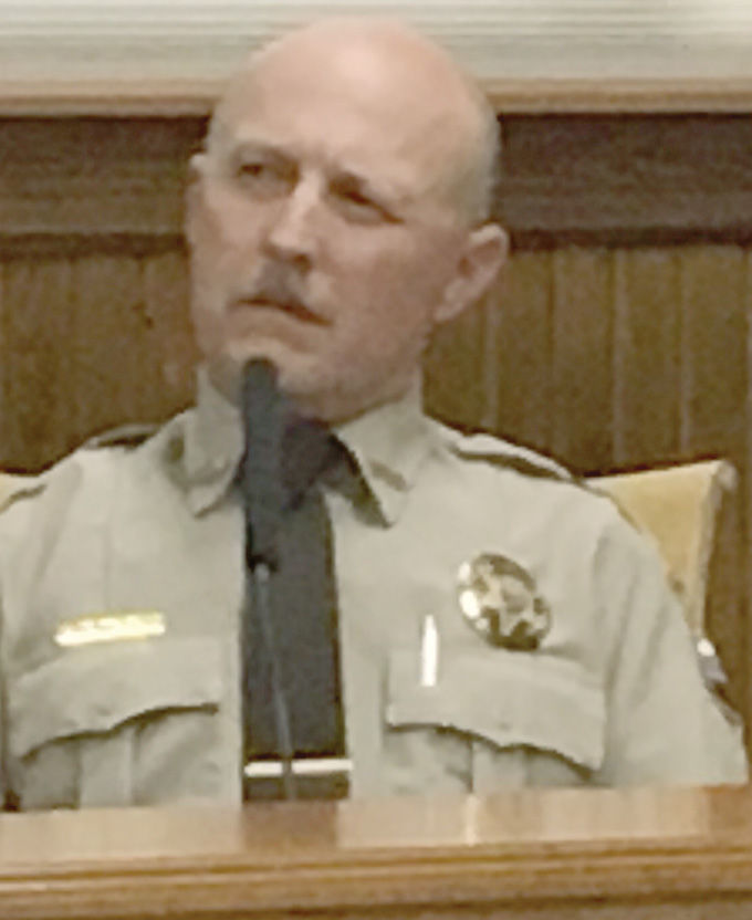 Beaverhead County Sheriff's Deputy Michael Miles