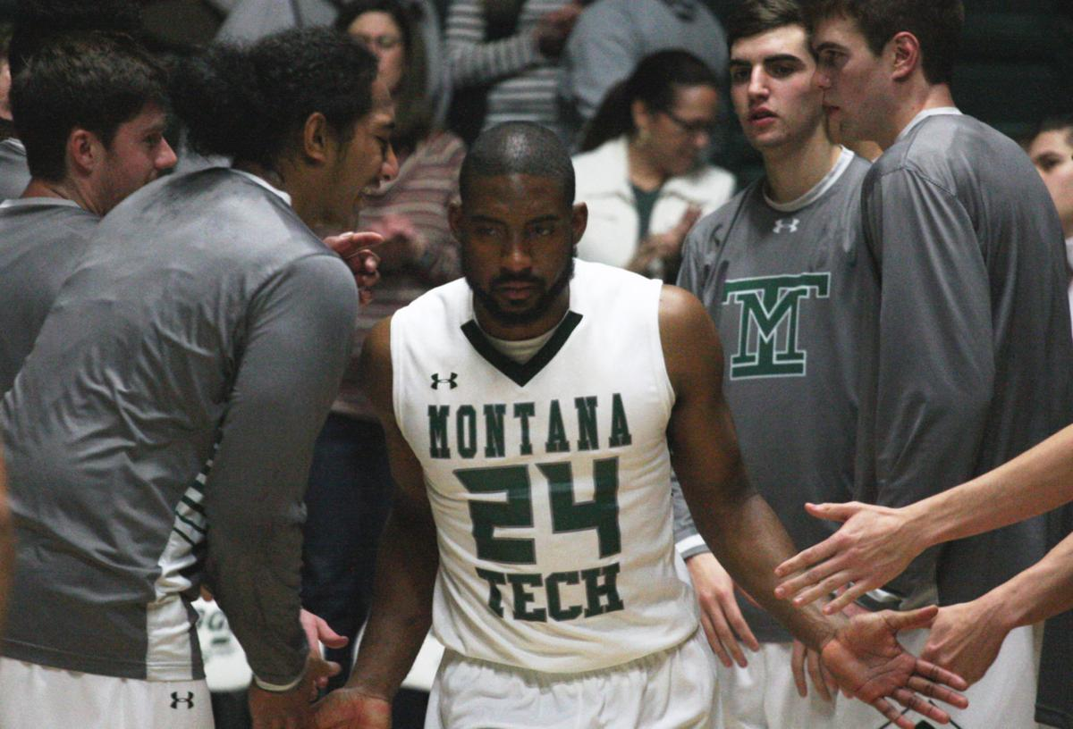 Montana Tech Men's Basketball - Iman Chatman