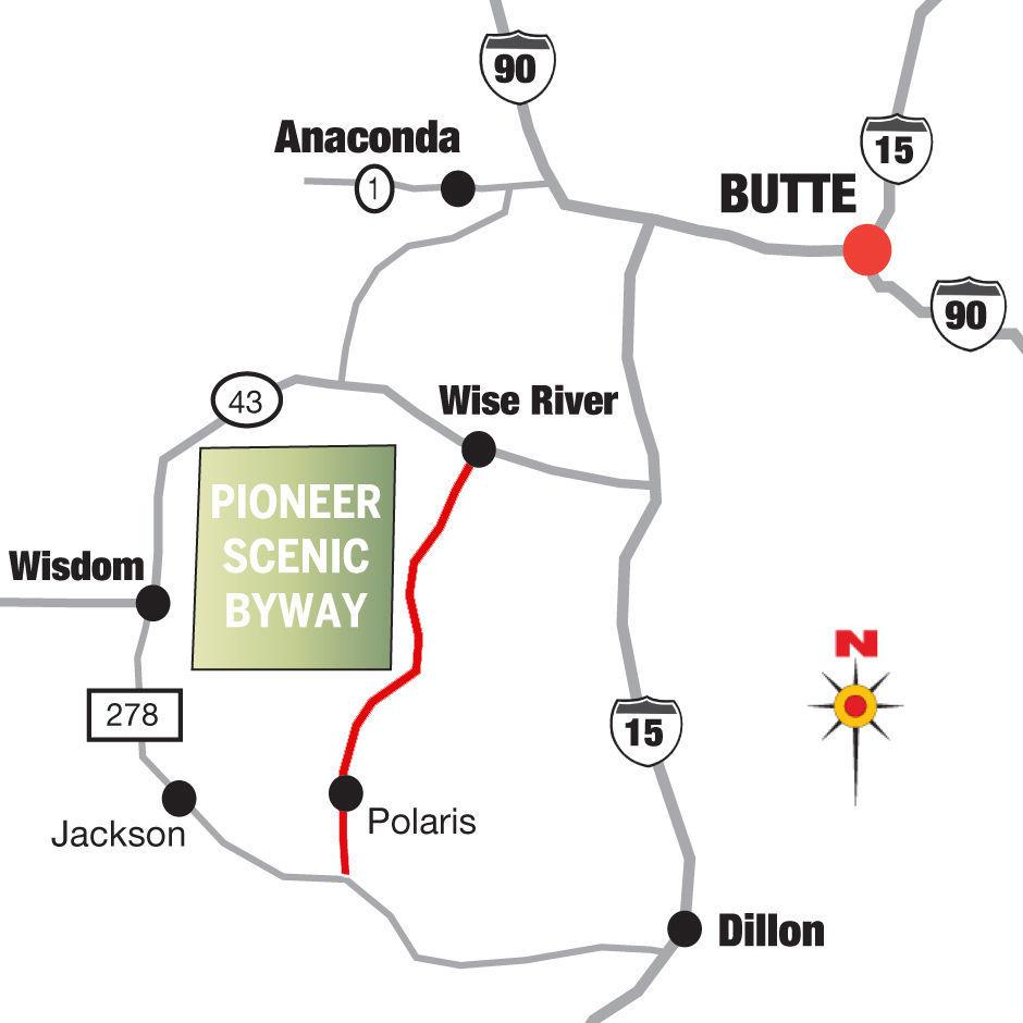 Montana beaverhead county polaris - Pioneer Scenic Byway