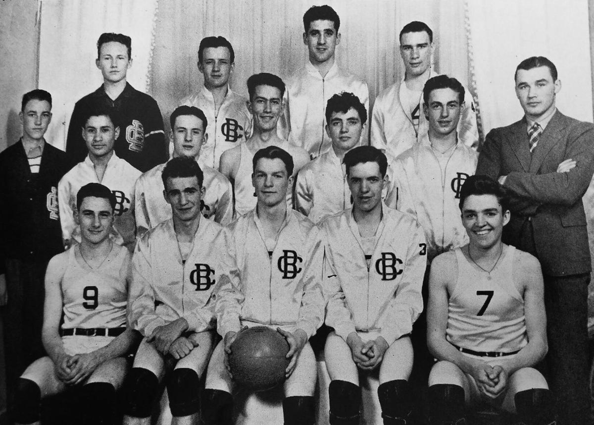 Butte Central 1939 basketball team (copy)
