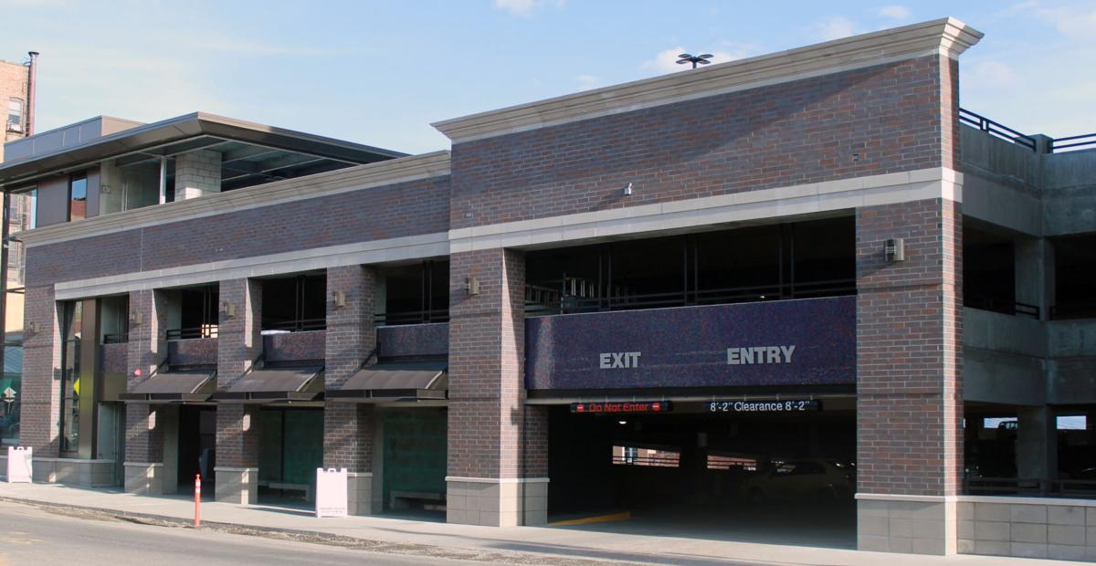 Uptown parking garage