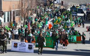 Live coverage of the annual St. Patrick's Day celebrations in Uptown Butte