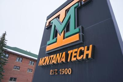 Montana Tech sign