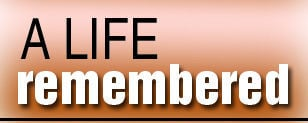 A life remembered logo