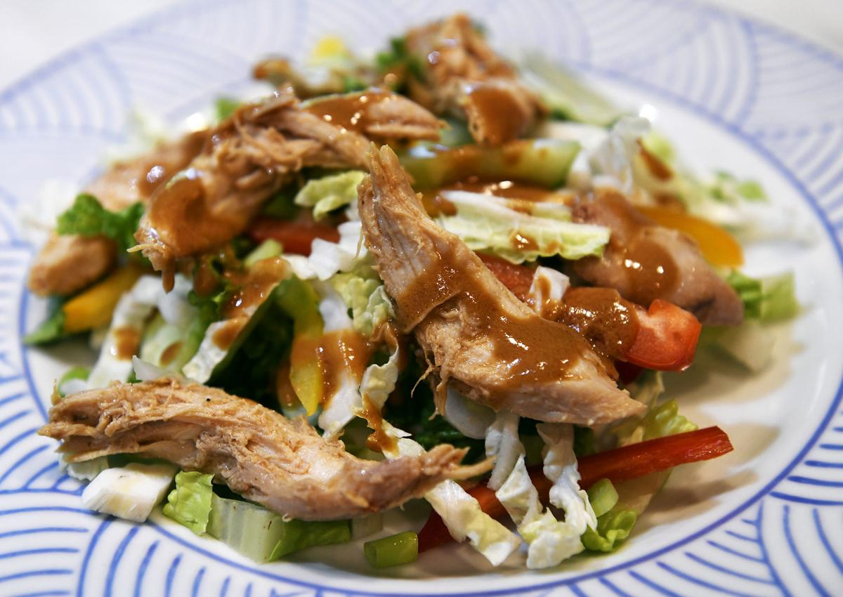 Keep your cool with this asian chicken salad food cooking and patent thai salad forumfinder Choice Image