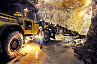 Troy mine