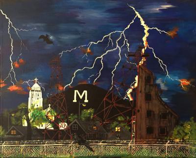 Lightning On M
