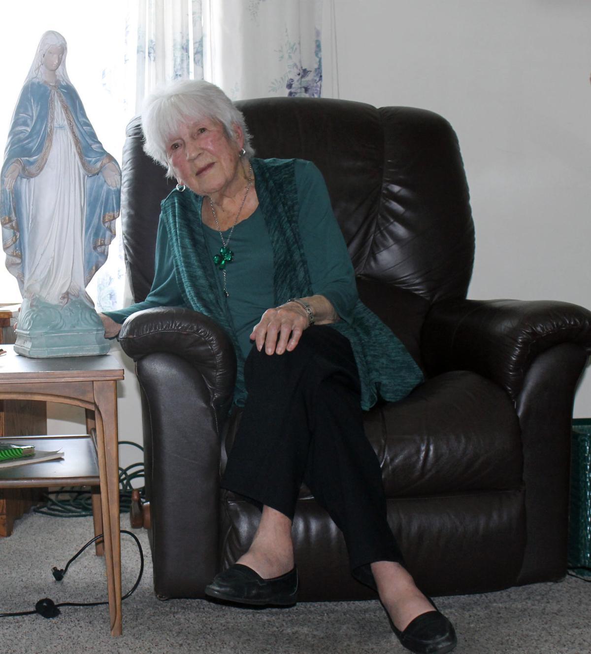 Enda Bowman at 99