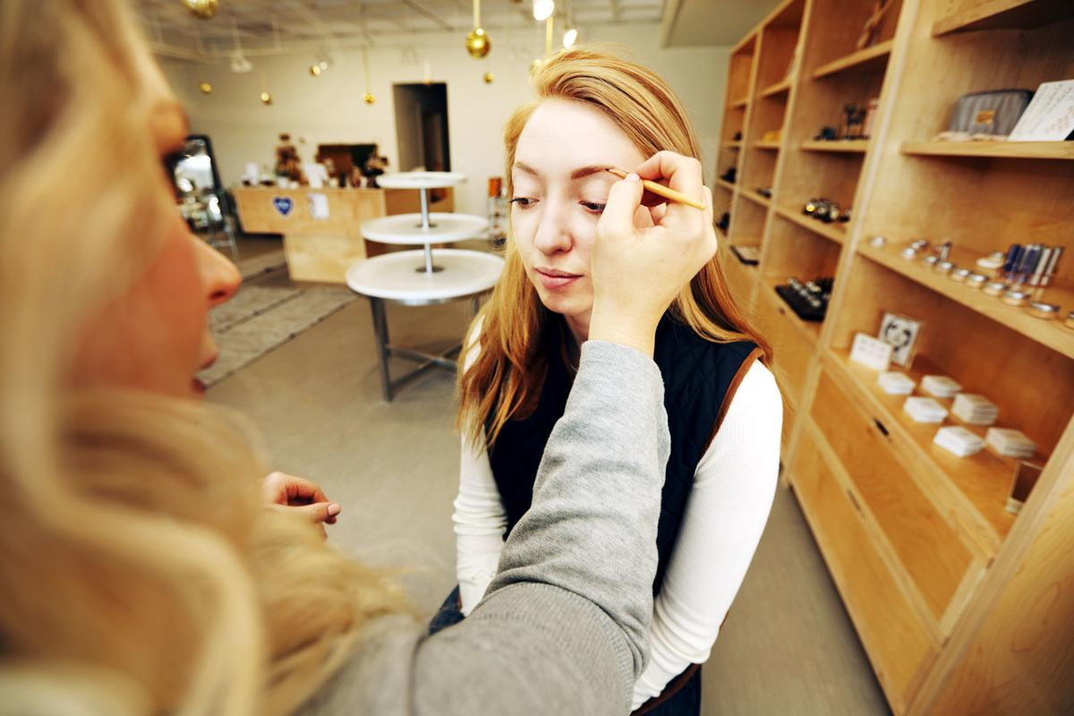 Green beauty counter opens in Butte