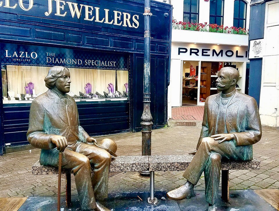 Statues in Galway