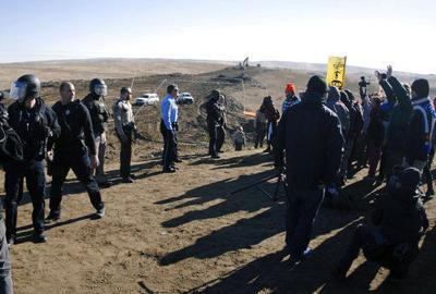 pipeline protest costs