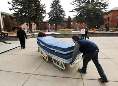 Tech lends hospital beds and equipment to St. James for use during the pandemic