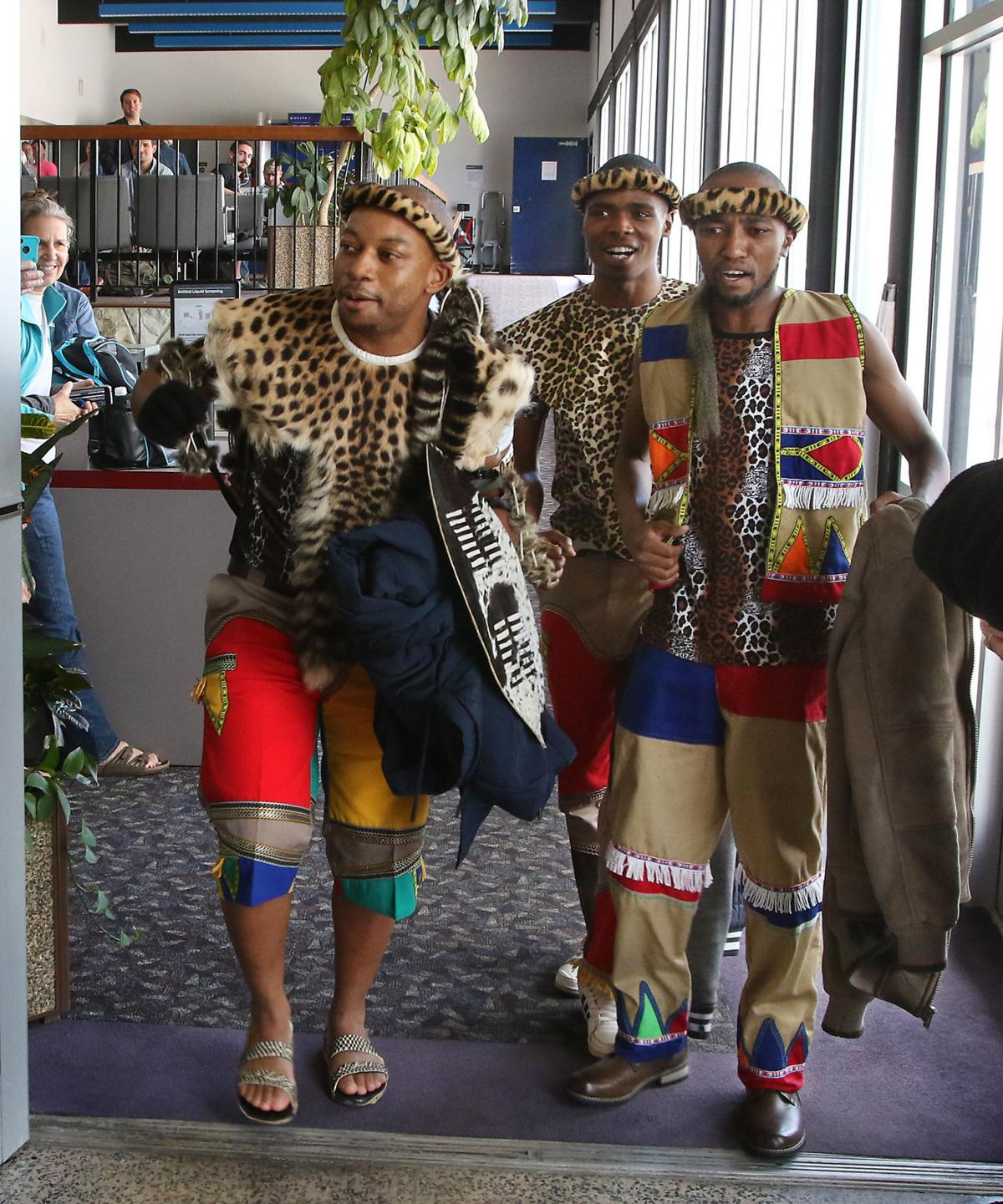 African prince arrives for summer in Butte
