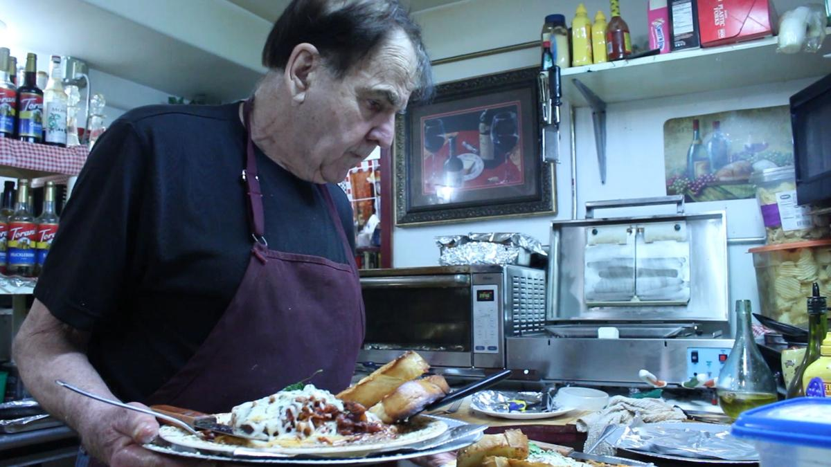 Buck Loomis specializes in gourmet hot dogs and Italian-American dishes