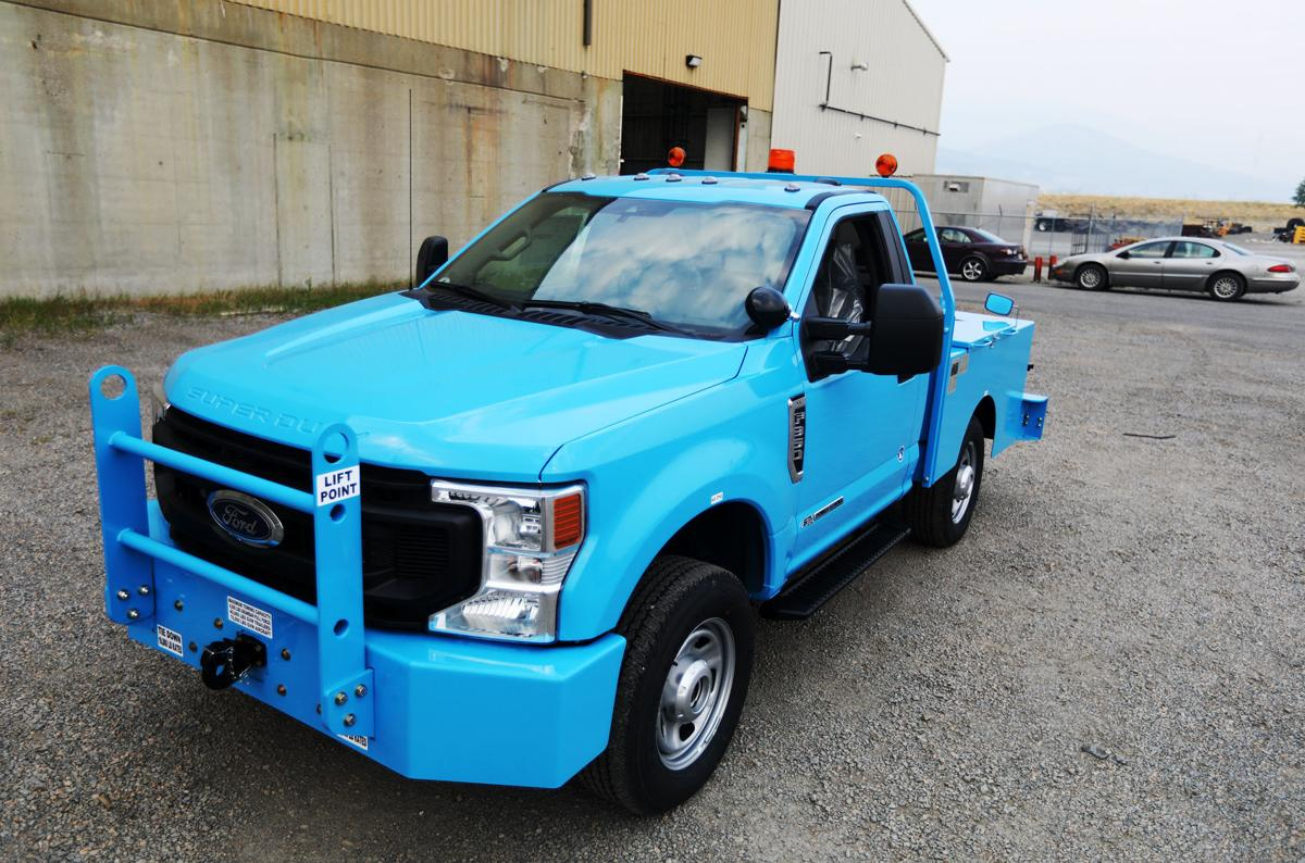 ITB creates one-of-a-kind tow truck for the US Airforce