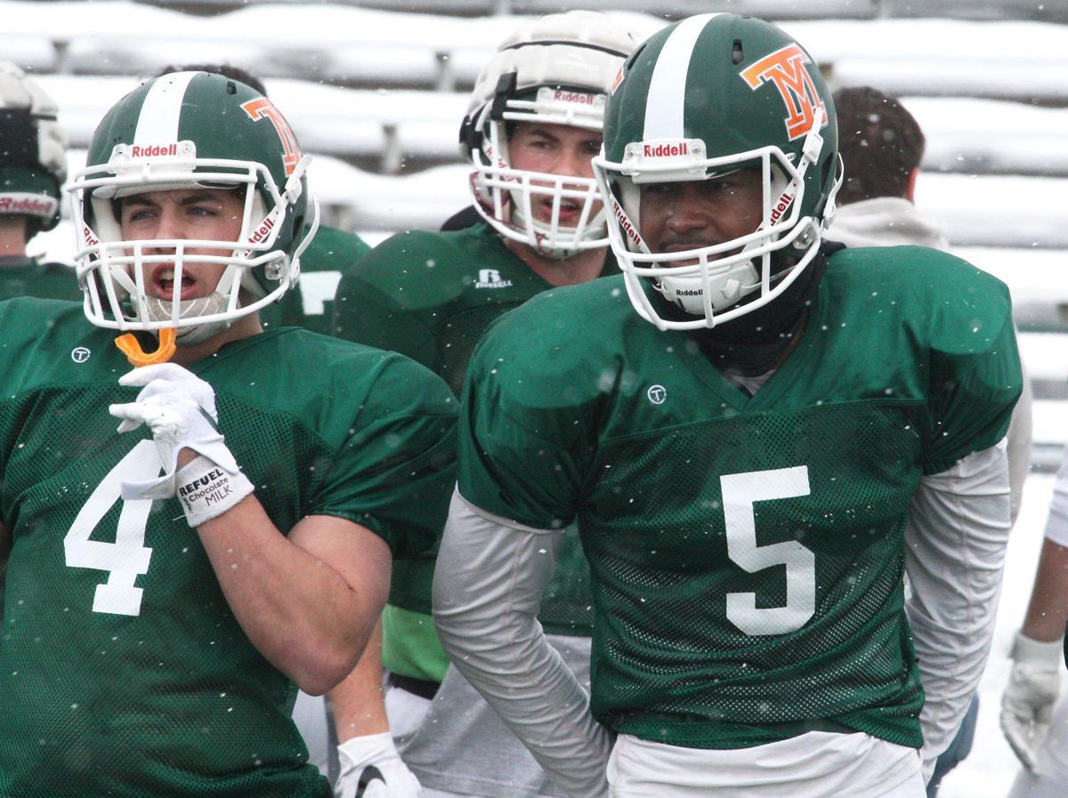 Tech Spring Football - Alec Steele and Ontario Johnson