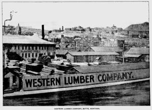 Mining City History: Western Lumber Company thrived even in brick era