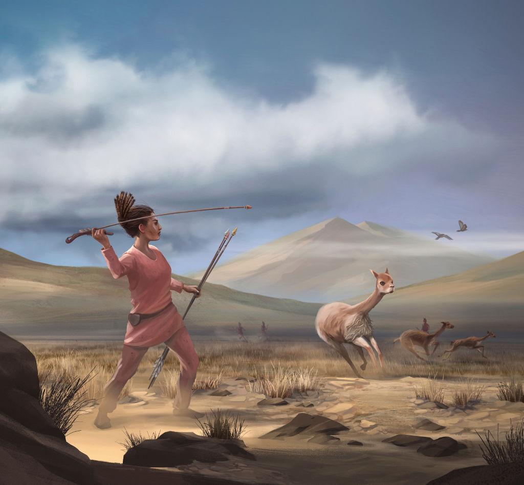 Peruvian huntress