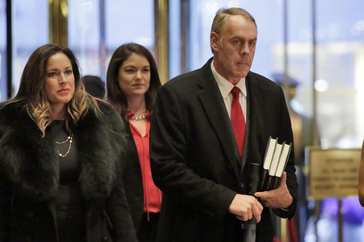Zinke in New York