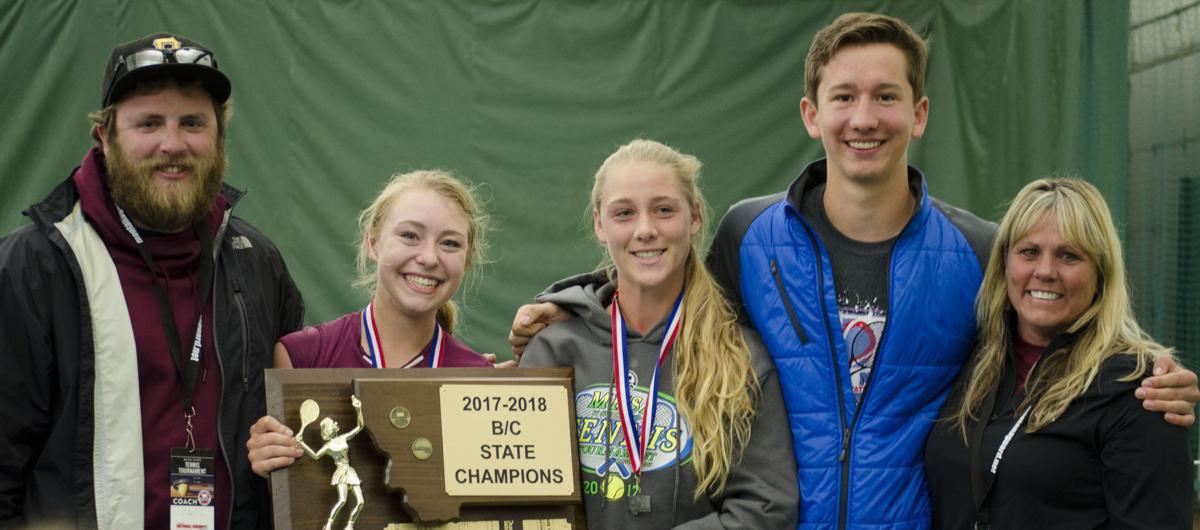 2018 Girls State B-C Tennis Champions