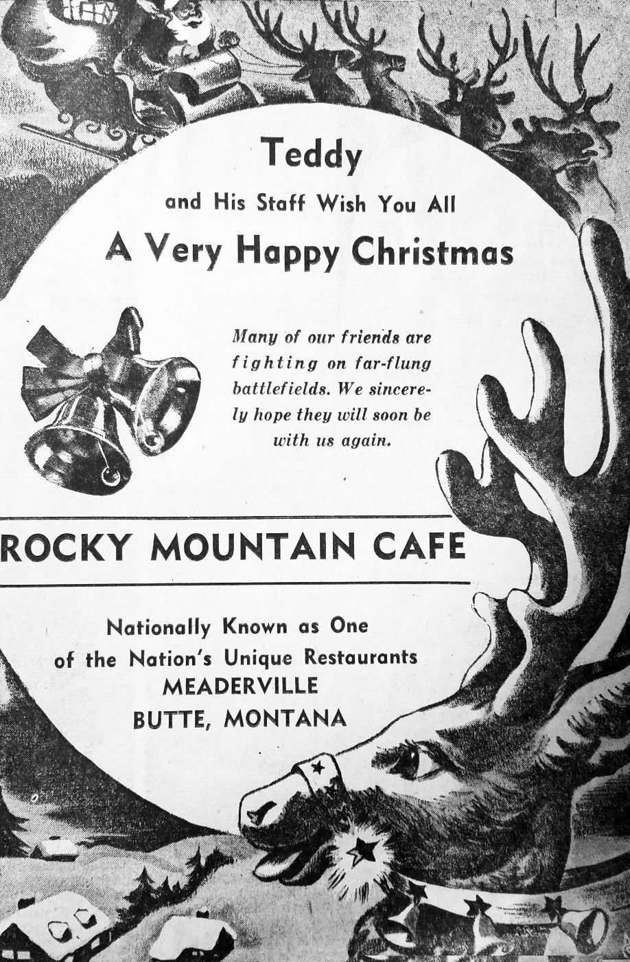 Christmas newspaper ads offer slice of life in days gone by ...