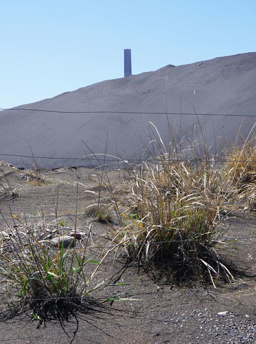 Anaconda slag dune