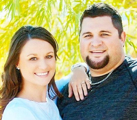 Chelsie Moquist and Cory Orrino