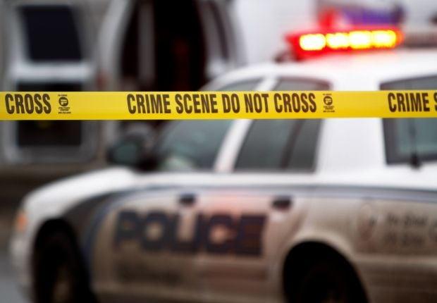 crime scene police icon