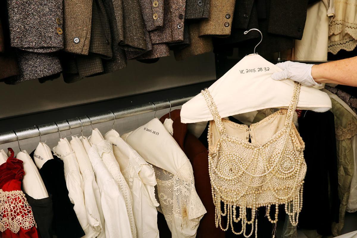 Vintage apparel preserved at the McFarland Center