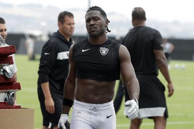 Raiders Brown Football