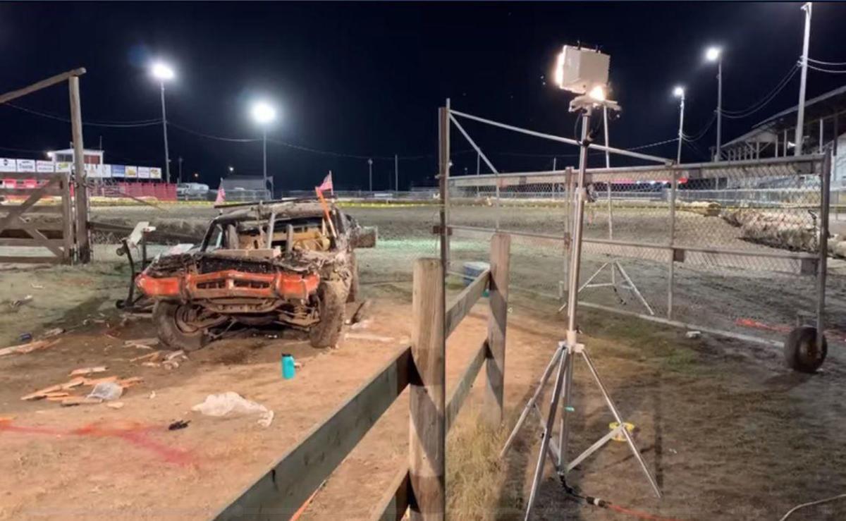 Demolition Derby Crash