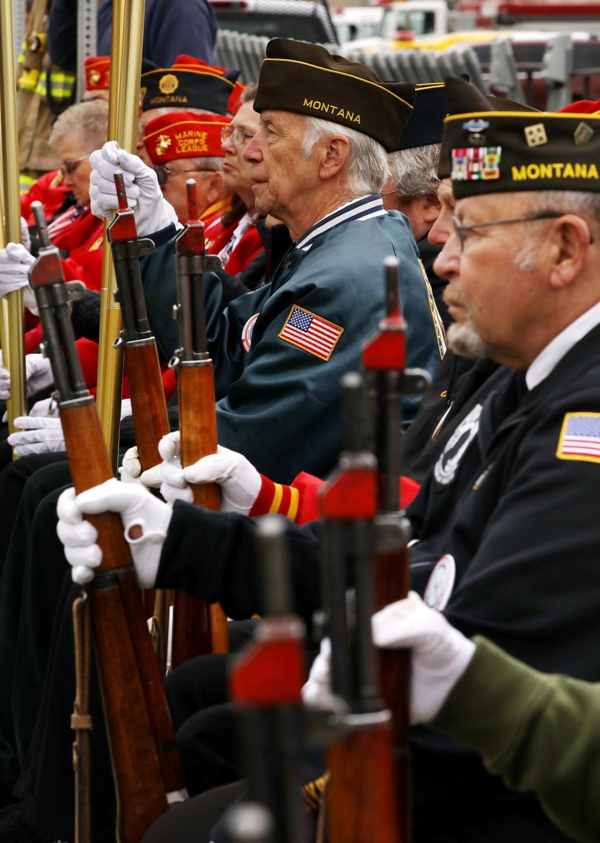 Southwest Montana United Veteran's Council Honor Guard at Stodden Park