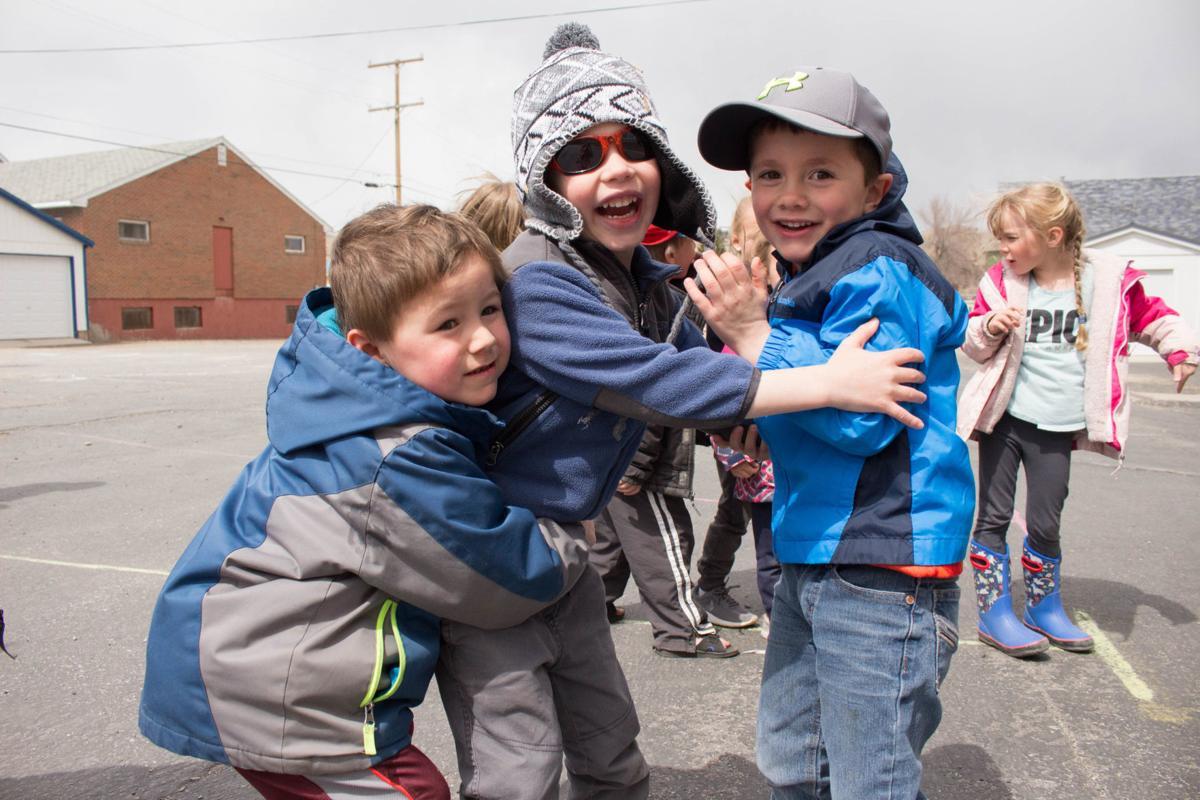 Recess time for Anaconda public preschool students