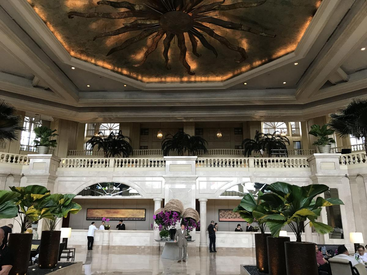 The lobby of The Peninsula Manila, which got a bump from four to five Stars this year in the Forbes Travel Guide hotel ratings. Forbes' anonymous inspectors have a list of more than 500 criteria they use to assess a hotel's service, amenities and more.