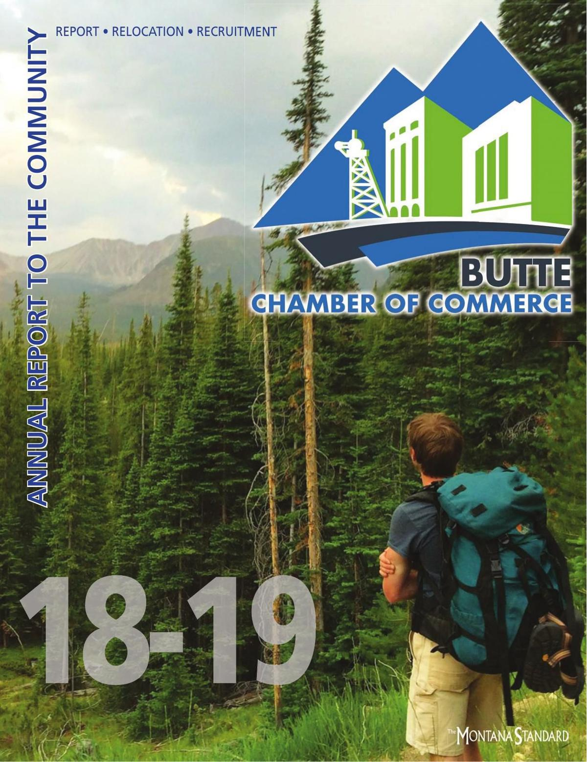 Butte Chamber of Commerce - Annual Report to the Community - 2018/2019