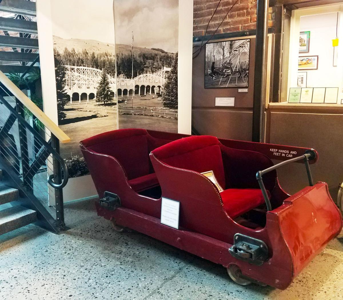 100 Roller Coaster car