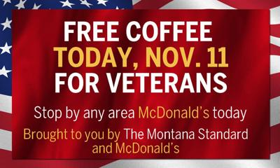 Free Coffee Today For Area Veterans