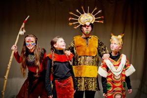 'The Lion King Experience Jr.' playing at Orphan Girl Theatre