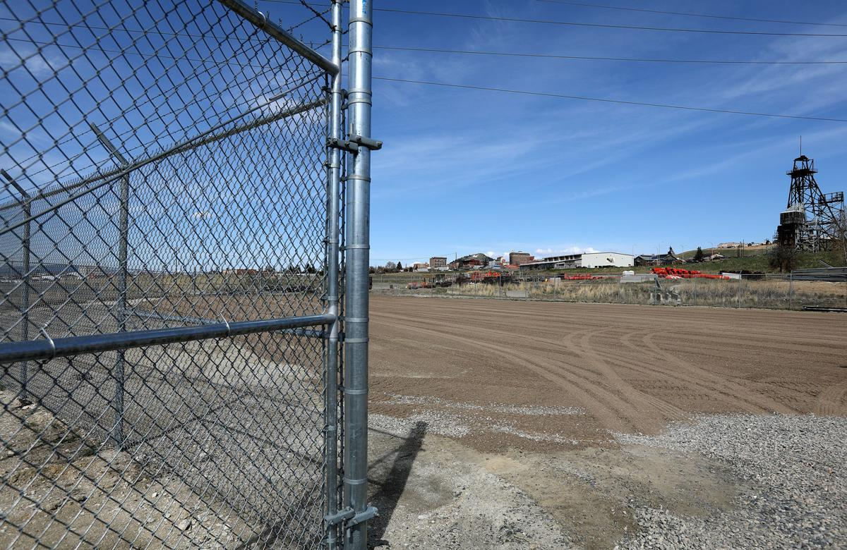 The site set aside for waste removal