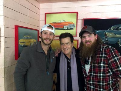 Tim Montana and Charlie Sheen