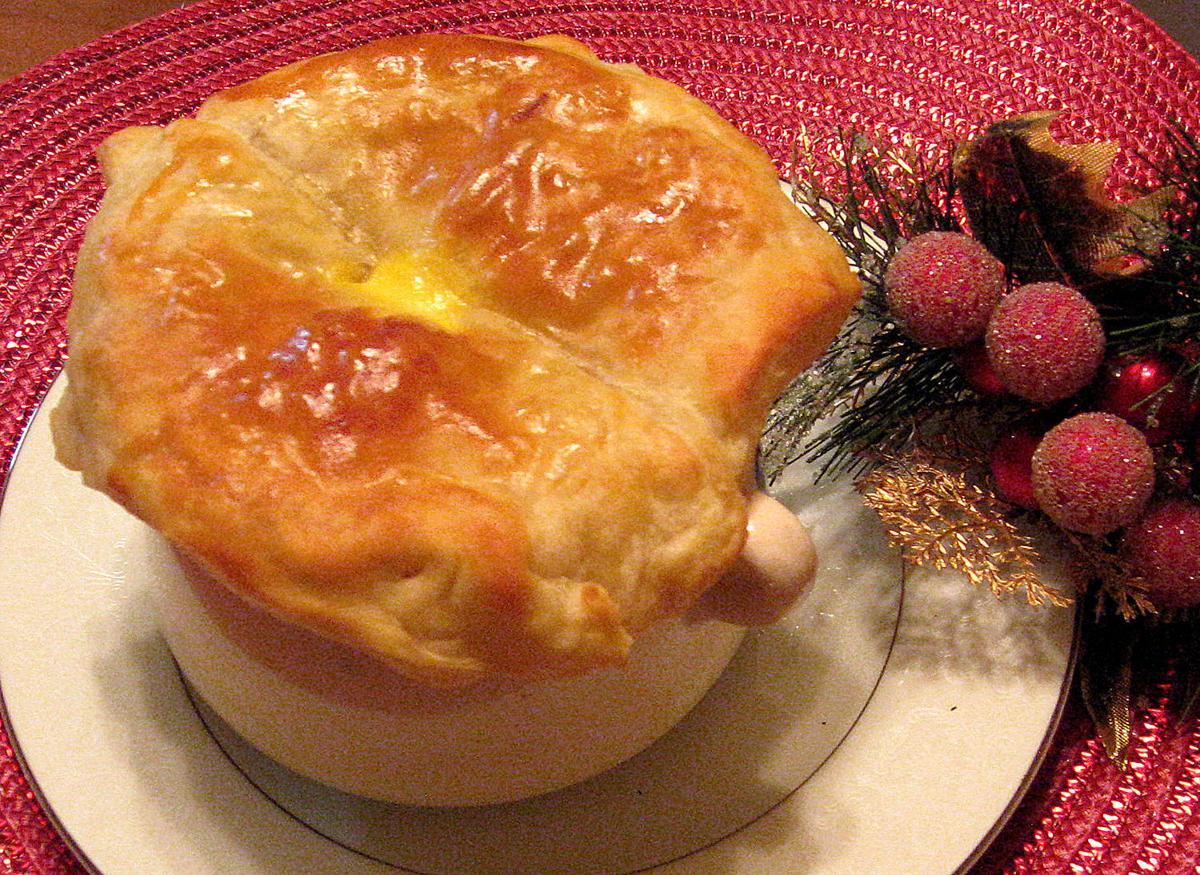 Crabmeat Pot Pie