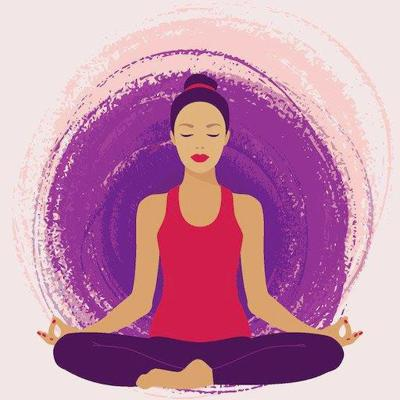 Yoga artwork