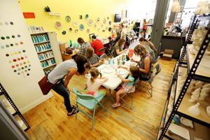 Dillon paint-your-own-pottery studio offers whimsical experience