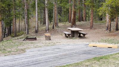Boulder Creek campground on Wise River
